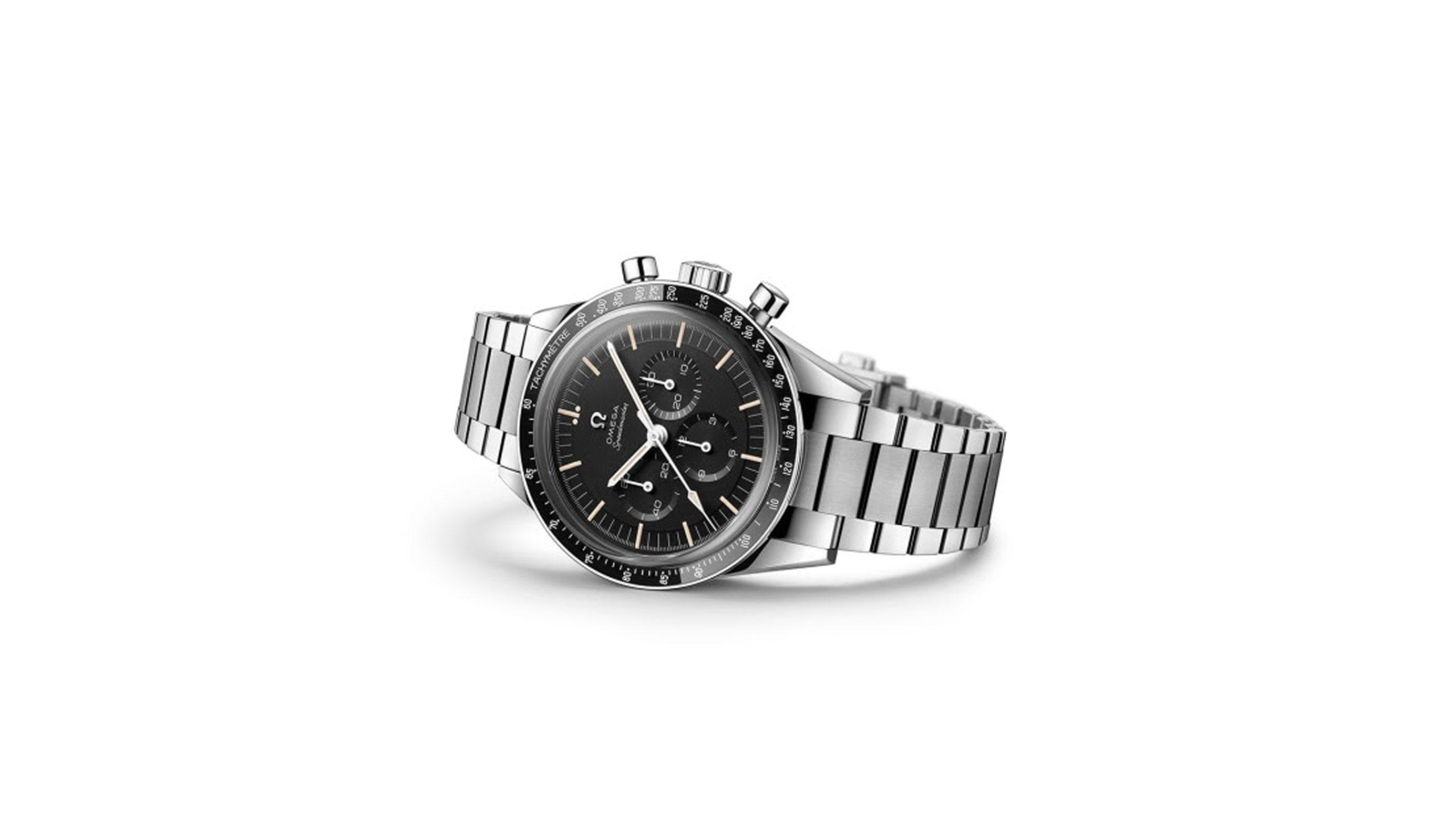 dit is de omega speedmaster moonwatch 321 stainless steel