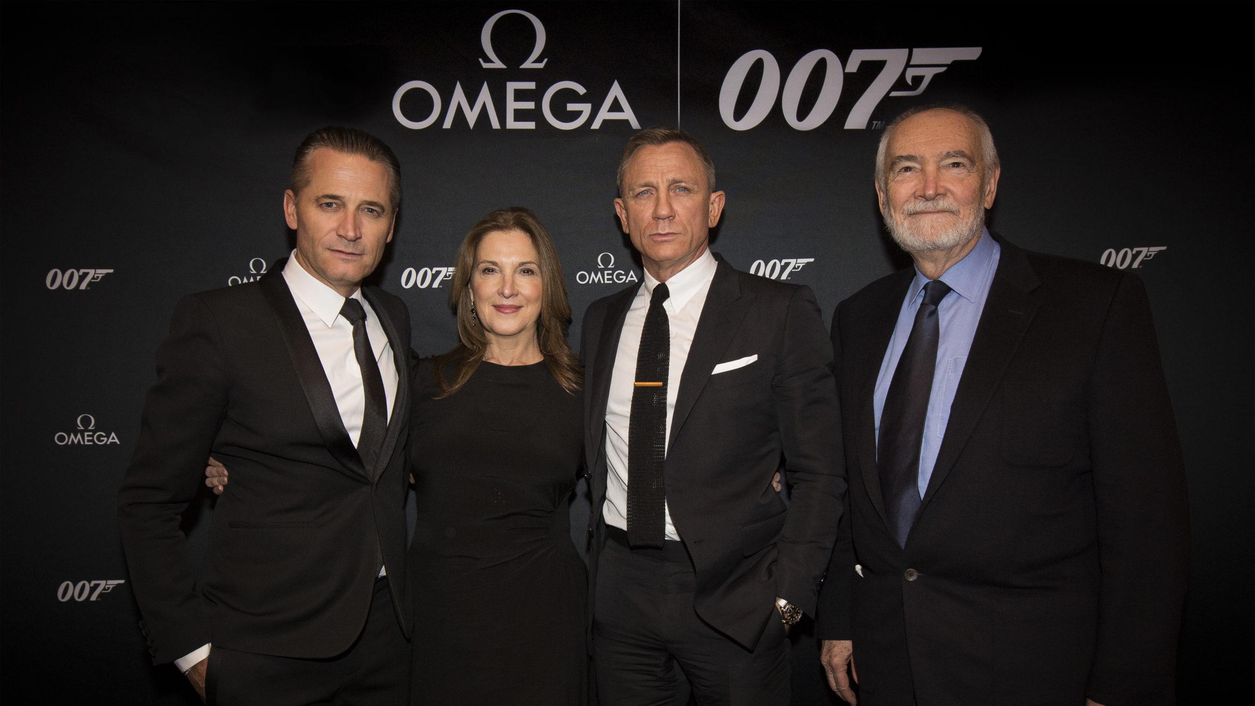 omega lanceert nieuwste james bond horloge in new york