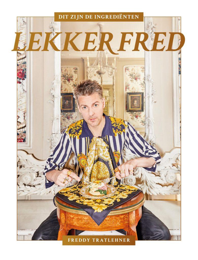 vjeze fur over zijn kookboek 'Lekker Fred'